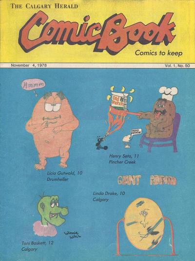 Cover for The Calgary Herald Comic Book (Calgary Herald, 1977 series) #v1#50