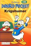 Cover Thumbnail for Donald Pocket (1968 series) #105 - Krigshumør [2. utgave bc 239 02]
