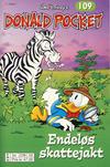 Cover Thumbnail for Donald Pocket (1968 series) #109 - Endeløs skattejakt [2. utgave bc 239 02]