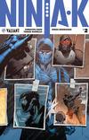 Cover for Ninja-K (Valiant Entertainment, 2017 series) #2 [Cover A - Trevor Hairsine]
