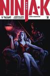 Cover for Ninja-K (Valiant Entertainment, 2017 series) #2 [Cover B - Lucas Troya]