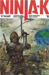 Cover for Ninja-K (Valiant Entertainment, 2017 series) #2 [Cover D - Kenneth Rocafort]
