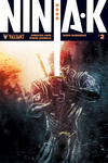 Cover for Ninja-K (Valiant Entertainment, 2017 series) #2 [Cover E - Ben Templesmith]