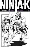 Cover for Ninja-K (Valiant Entertainment, 2017 series) #2 [Bob Layton Variant]