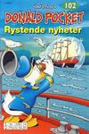 Cover Thumbnail for Donald Pocket (1968 series) #102 - Rystende nyheter [3. utgave bc 239 14]