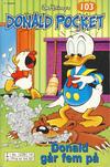 Cover Thumbnail for Donald Pocket (1968 series) #103 - Donald går fem på [3. utgave bc 239 14]