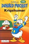 Cover Thumbnail for Donald Pocket (1968 series) #105 - Krigshumør [3. utgave bc 239 14]