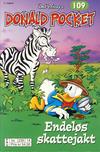 Cover Thumbnail for Donald Pocket (1968 series) #109 - Endeløs skattejakt [3. utgave bc 239 14]