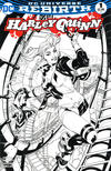 Cover Thumbnail for Harley Quinn (2016 series) #1 [Midtown Comics Exclusive Terry Dodson Black and White Variant]