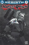 Cover Thumbnail for Harley Quinn (2016 series) #1 [Bulletproof Comics and Games Exclusive Gabriele Dell'Otto Black and White Variant]