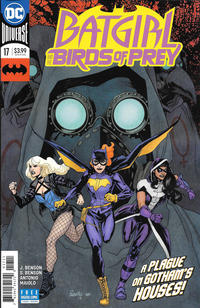 Cover Thumbnail for Batgirl & the Birds of Prey (DC, 2016 series) #17