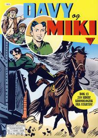 Cover Thumbnail for Davy og Miki (Hjemmet / Egmont, 2014 series) #13