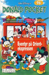 Cover Thumbnail for Donald Pocket (Hjemmet / Egmont, 1968 series) #96 - Eventyr på Orientekspressen [3. utgave bc 239 13]