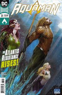 Cover Thumbnail for Aquaman (DC, 2016 series) #31 [Stjepan Šejić Cover]