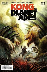 Cover Thumbnail for Kong on the Planet of the Apes (Boom! Studios, 2017 series) #2 [Cover A Mike Huddleston]