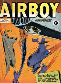 Cover Thumbnail for Airboy Comics (Thorpe & Porter, 1953 series) #5