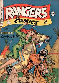 Cover Thumbnail for Rangers Comics (H. John Edwards, 1950 ? series) #16
