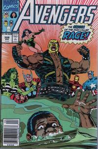 Cover Thumbnail for The Avengers (Marvel, 1963 series) #328 [Australian]