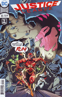Cover Thumbnail for Justice League (DC, 2016 series) #35