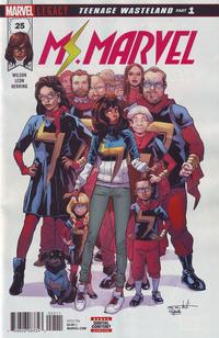 Cover Thumbnail for Ms. Marvel (Marvel, 2016 series) #25