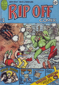 Cover Thumbnail for Rip Off Comix (Rip Off Press, 1977 series) #1 [1.00 USD 2nd print]