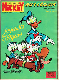 Cover Thumbnail for Le Journal de Mickey (Hachette, 1952 series) #724