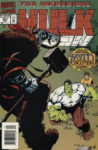 Cover Thumbnail for The Incredible Hulk (Marvel, 1968 series) #421 [Newsstand]