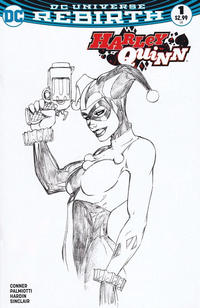 Cover Thumbnail for Harley Quinn (DC, 2016 series) #1 [Aspen Comics Exclusive Michael Turner Sketch Variant]
