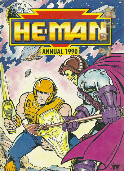 Cover for He-Man Annual (World Distributors, 1990 series) #1990