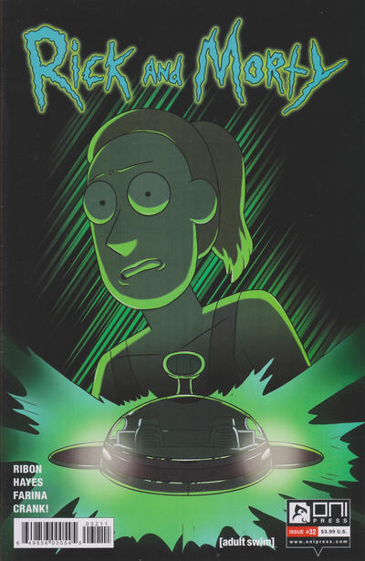 Cover for Rick and Morty (Oni Press, 2015 series) #32 [Cover A - CJ Cannon]