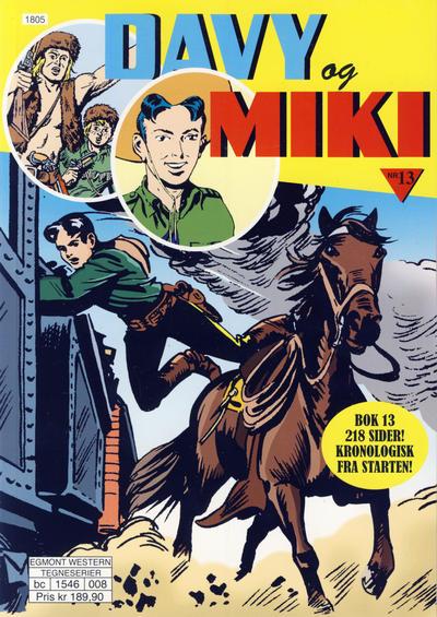 Cover for Davy og Miki (Hjemmet / Egmont, 2014 series) #13