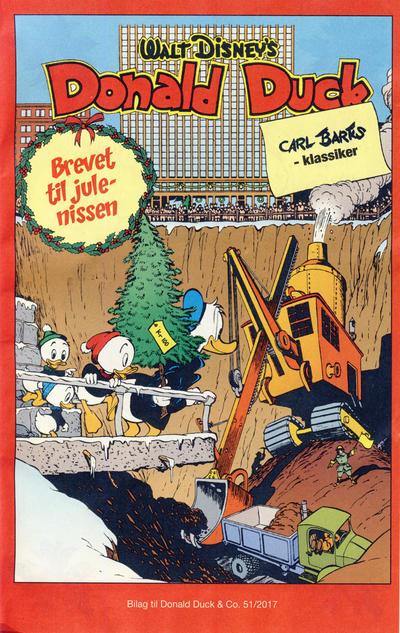 Cover for Bilag til Donald Duck & Co (Hjemmet / Egmont, 1997 series) #51/2017