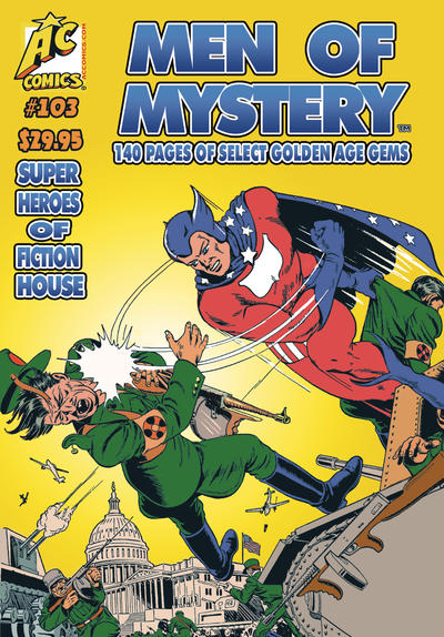 Cover for Men of Mystery Comics (AC, 1999 series) #103