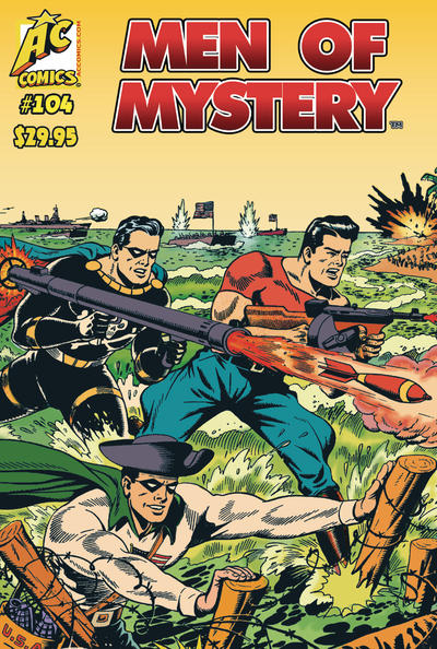 Cover for Men of Mystery Comics (AC, 1999 series) #104