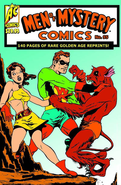Cover for Men of Mystery Comics (AC, 1999 series) #96 (95)