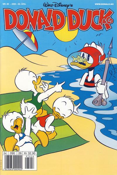Cover for Donald Duck & Co (Hjemmet / Egmont, 1948 series) #26/2009