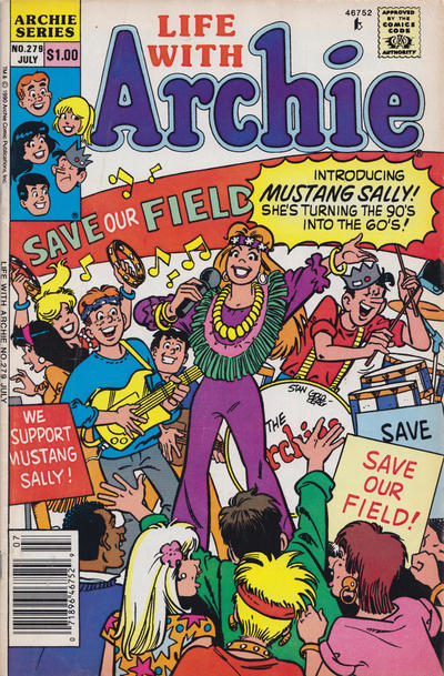 Cover for Life with Archie (Archie, 1958 series) #279 [Newsstand]