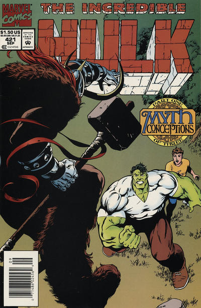 Cover for The Incredible Hulk (Marvel, 1968 series) #421 [Direct Edition]