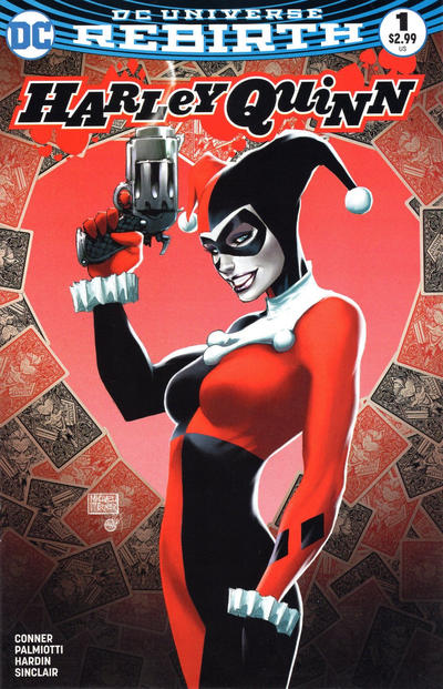Cover for Harley Quinn (DC, 2016 series) #1 [Aspen Comics Michael Turner Happy Harleydays Cover]