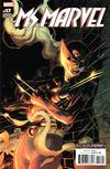 Cover for Ms. Marvel (Marvel, 2016 series) #17 [Incentive Adam Kubert 'Resurrxion' Variant]