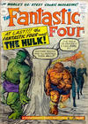 Cover for Fantastic Four (Marvel, 1961 series) #12 [British Price Variant]