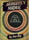 Cover for Absolutely Normal (Houghton Mifflin, 1947 series)
