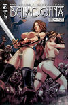 Cover for Belladonna: Fire and Fury (Avatar Press, 2017 series) #2 [Nude Cover]