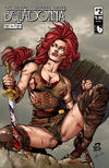 Cover for Belladonna: Fire and Fury (Avatar Press, 2017 series) #2 [Stunning Cover]
