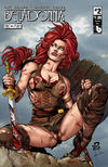 Cover for Belladonna: Fire and Fury (Avatar Press, 2017 series) #2 [Stunning Nude Cover]