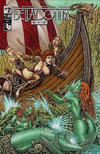 Cover for Belladonna: Fire and Fury (Avatar Press, 2017 series) #2 [Wraparound Nude Cover]
