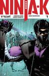 Cover for Ninja-K (Valiant Entertainment, 2017 series) #1 [Second Printing]