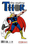 Cover Thumbnail for Mighty Thor (2016 series) #700 [Incentive Jack Kirby 1965 T-Shirt Cover]
