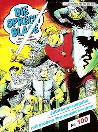 Cover Thumbnail for Die Sprechblase (Norbert Hethke Verlag, 1978 series) #100
