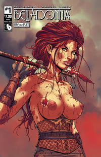 Cover Thumbnail for Belladonna: Fire and Fury (Avatar Press, 2017 series) #1 [Shield Maiden Nude Cover]